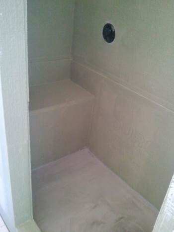 tub to shower conversion and complete Bathroom Makeover in Southlake, TX