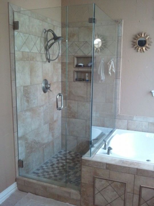 Bathroom Remodeling - After Shower and Tub Replacement in Coppell, TX