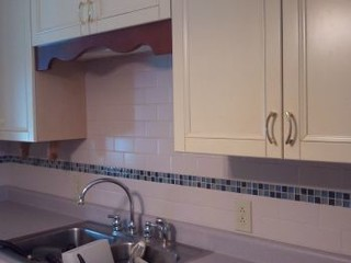 Before and After Kitchen Backsplash Remodeling in North Richland Hills, TX