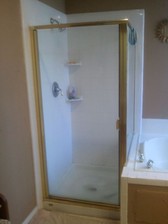Bathroom Remodeling - Before, During, and After Shower and Tub Replacement in Coppell, TX