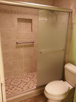 Shower Tile Install in North Richland Hills TX