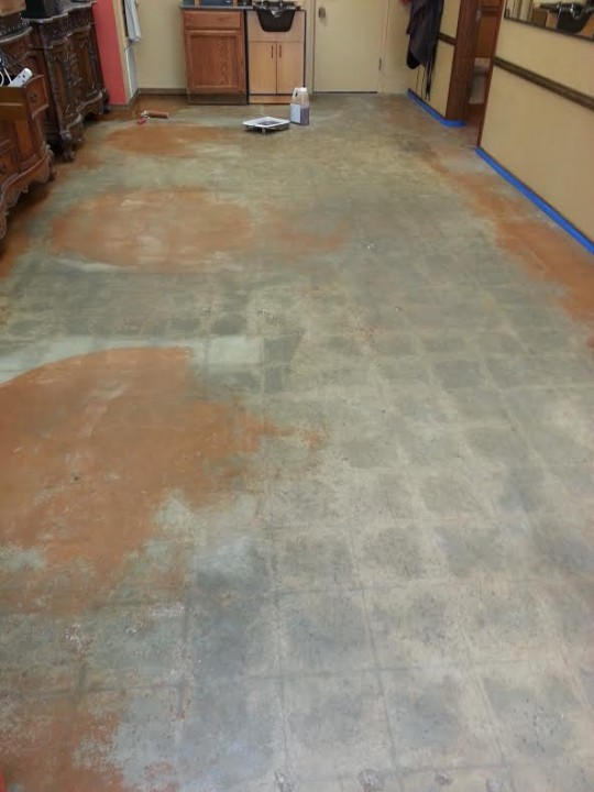 Before Floor in North Richland Hills TX